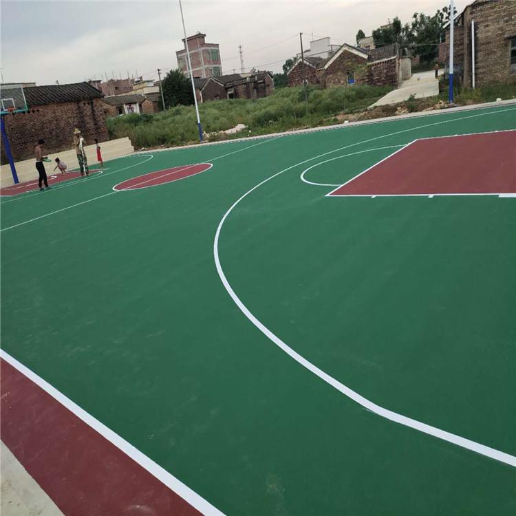丙烯酸漆篮球场,湛江厂家专业施工
