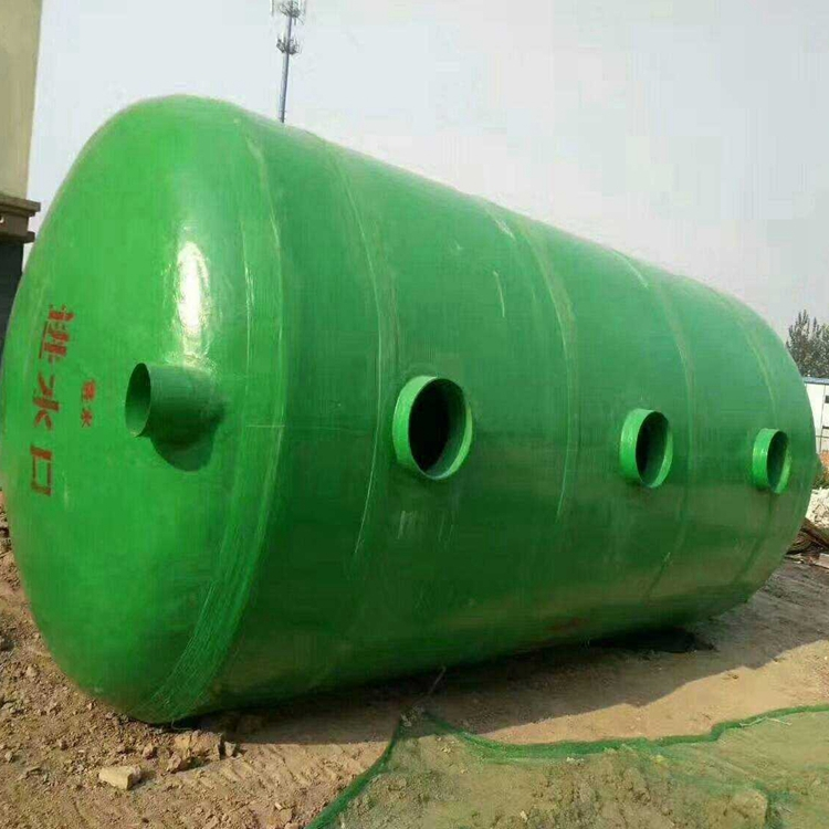 淮安玻璃钢化粪池 环保玻璃钢化粪池 100立方玻璃钢化粪池 博通化粪池直销厂家