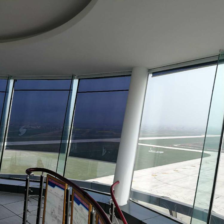 厂家直销 机场塔台遮阳帘 精工细作 价格合理 室内光线明亮而不眩目