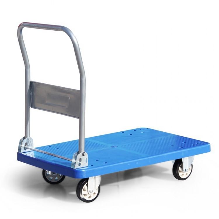置物架手推车 拉货平板车 小拖车 便携折叠手拉车
