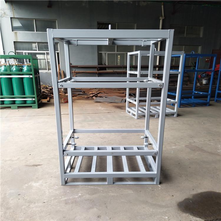 供应特气钢瓶集装格 采用高强度结构钢焊接框架 品控严格