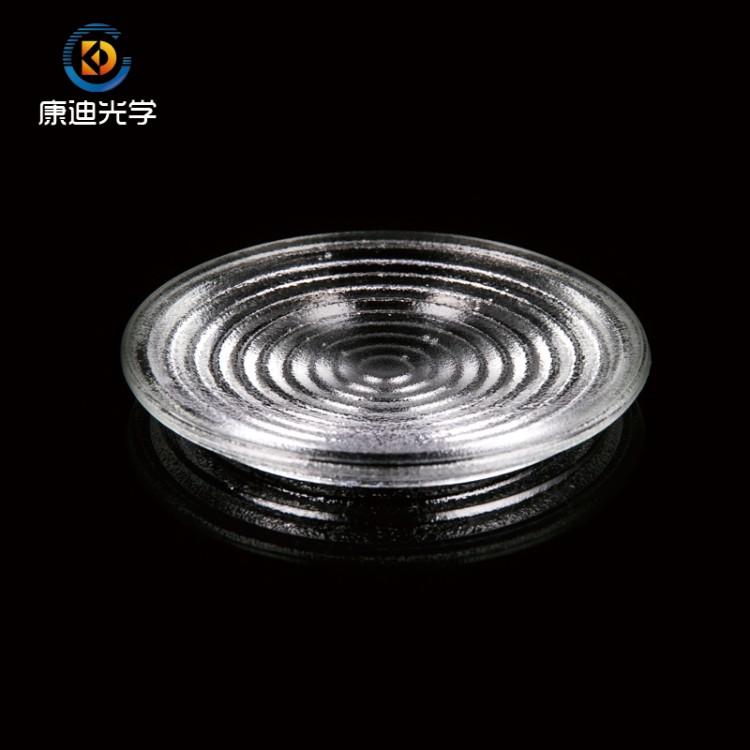 80mm螺纹镜 菲涅耳玻璃透镜 舞台灯透镜 焦距50