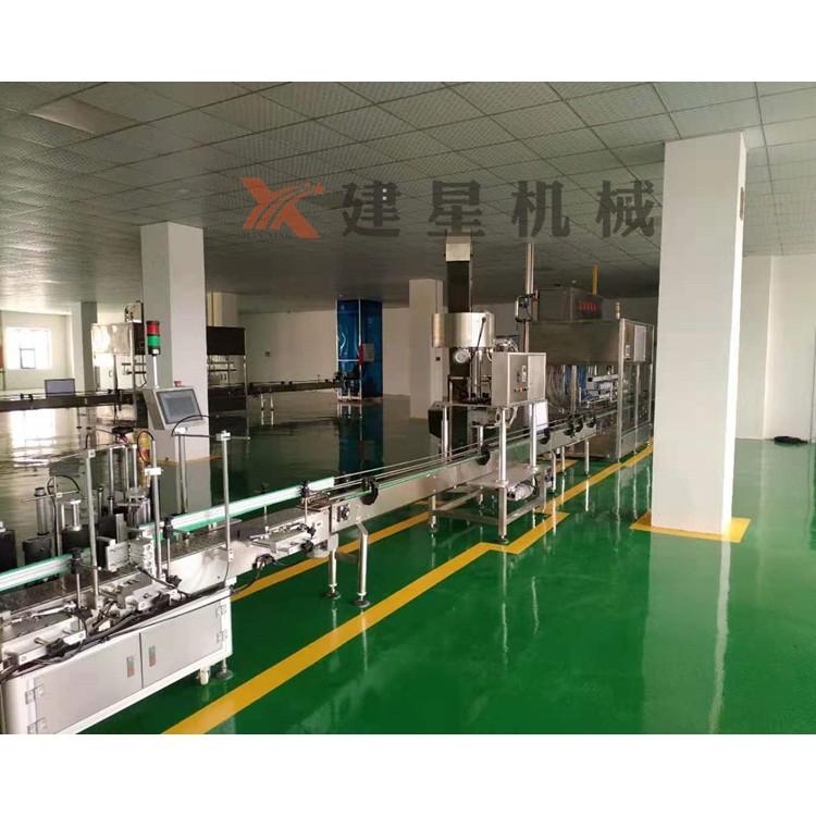 厂家专业出售食用油灌装线,规格齐全,技术力量雄厚