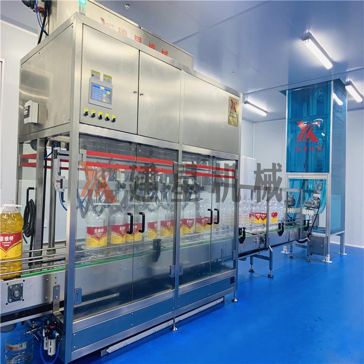 专业出售食用油灌装线 厂家直销 专业研制全自动食用油灌装线