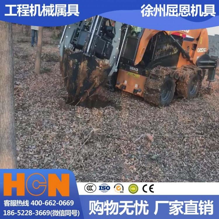 厂家现货供应瓣式挖树机 HCN屈恩苹果球移树机 90公分土球完整专业移栽种树机