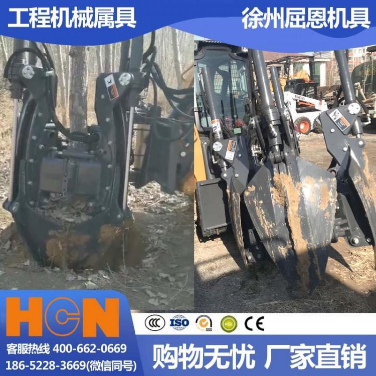 青海西宁挖树机 HCN屈恩苹果球移树机 高原冻土树木移栽设备 高成活率种树机