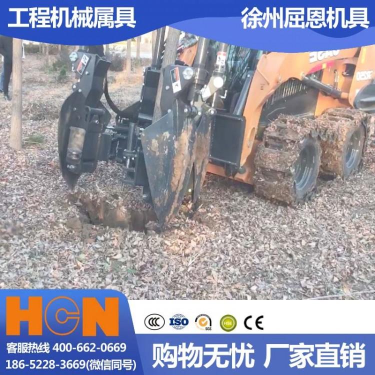 山西太原挖树机 HCN屈恩苹果球移树机 黄土高坡树木移栽设备 高成活率种树机