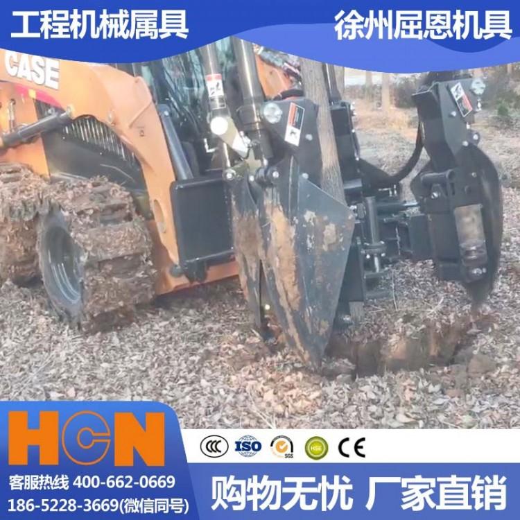 陕西西安挖树机 HCN屈恩苹果球移树机 秦岭山区树木移栽设备 高成活率种树机