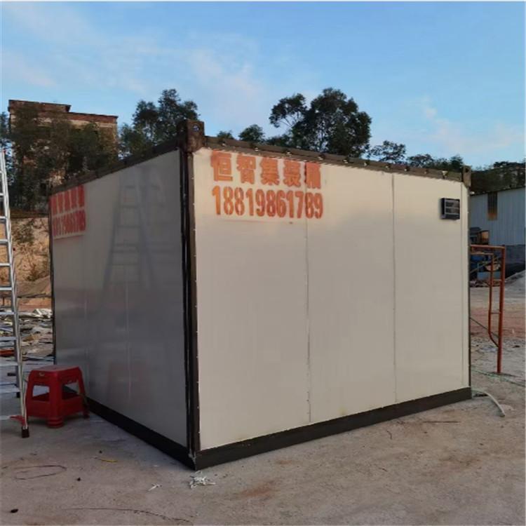 住人集装箱房安装定制 集装箱移动板房 可租可买