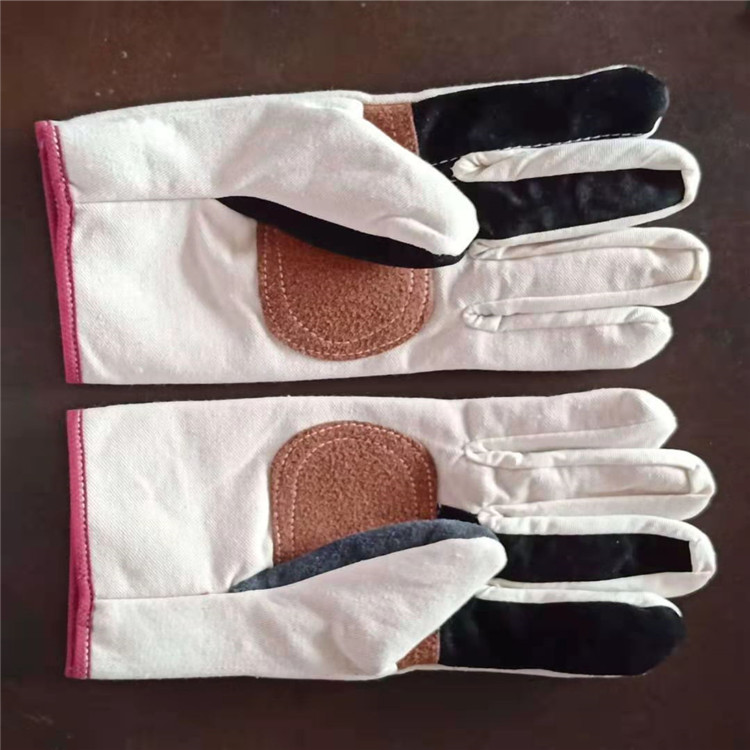 炼钢手套  海员手套批发 司机手套耐高温阻燃石棉手套