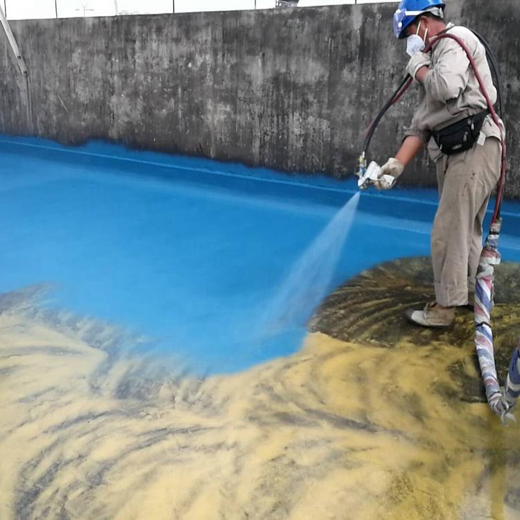 安全环保喷涂聚脲 适用范围广 耐磨防滑