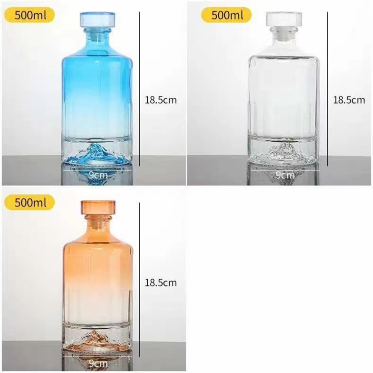 江苏玻璃制品生产厂家 玻璃酒瓶批发价格 品类齐全 质优价廉