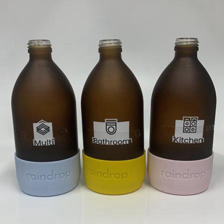 全国直销洗手液玻璃瓶 免费印logo 款式颜色可定制