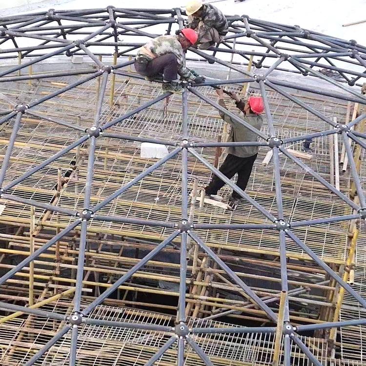 球形网架定制厂家 结构扎实 安装定制一站式服务 经验丰富 质优价廉