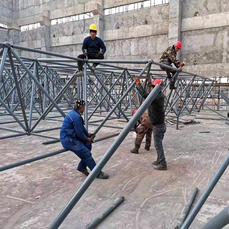 螺栓球网架安装定制 结构扎实 资质齐全