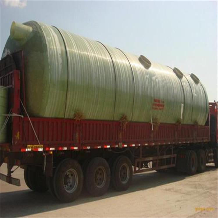 广西合山树脂玻璃钢化粪池 污水处理化粪池批发