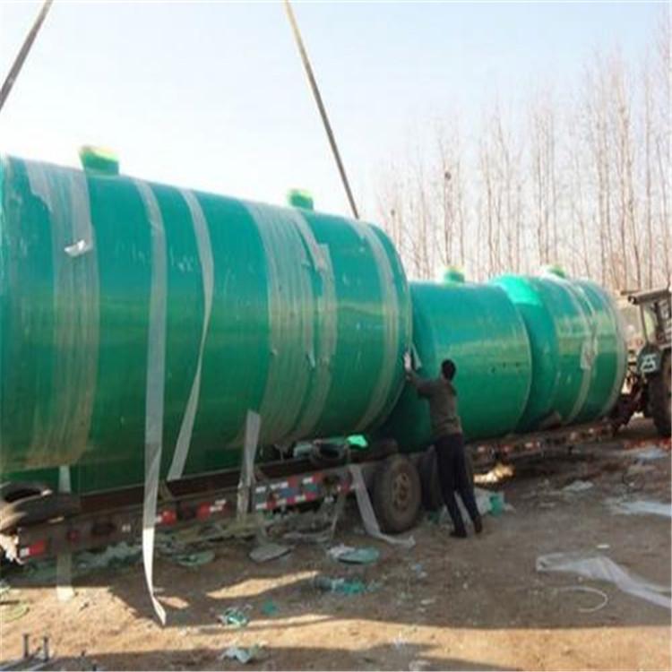 广西贵港市政工程100立方化粪池 玻璃钢材质货源