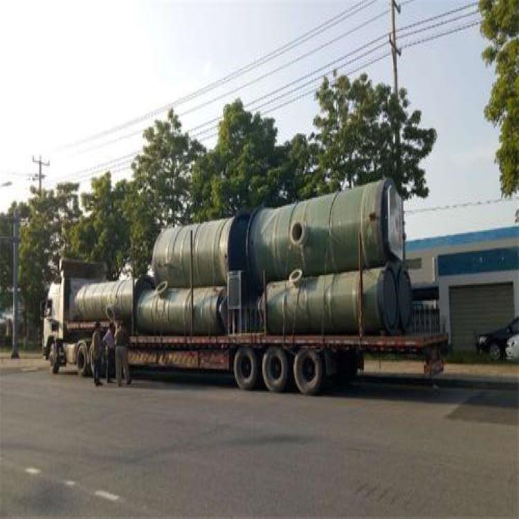 宾阳环保型玻璃钢材质泵站 预制泵站厂家