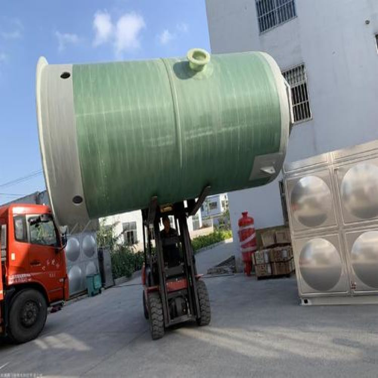 横县玻璃钢泵站一体化 泵站预制泵站价格龙环环保