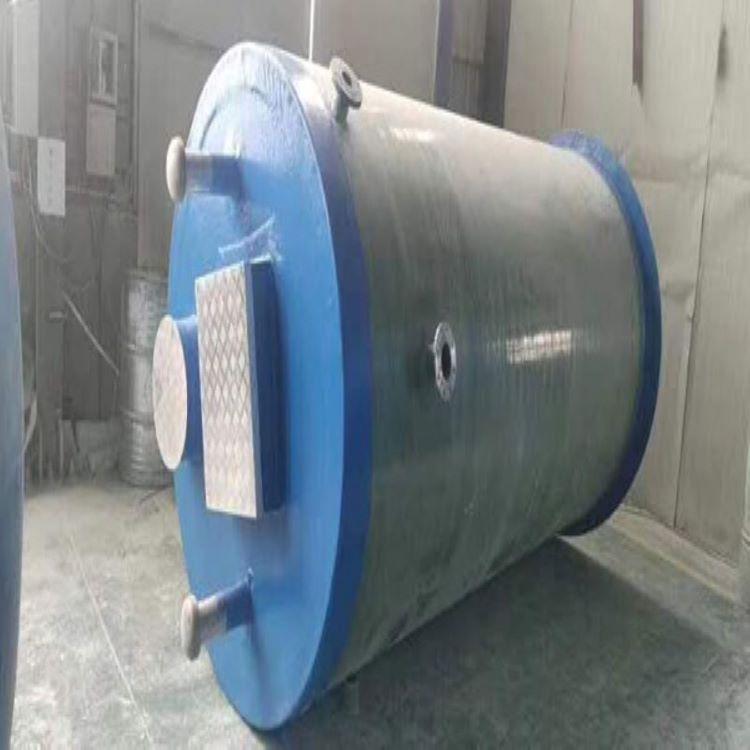 阳朔一体化提升泵站玻璃钢泵站供应