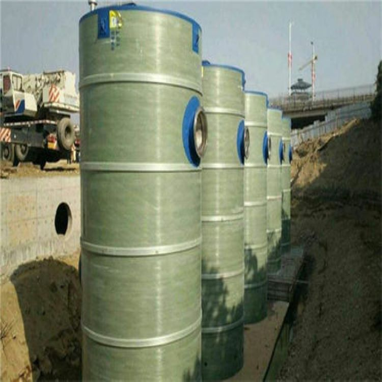 灵川玻璃钢泵站 提升预制泵站一体式直供