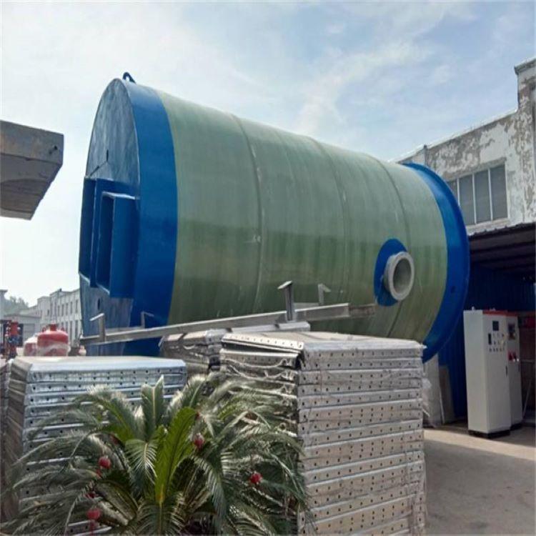 兴安污水处理玻璃钢泵站 提升泵站直销龙环环保
