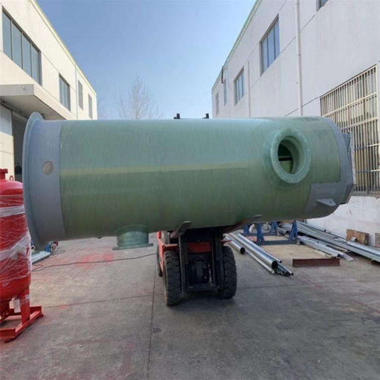 灌阳一体化玻璃钢泵站 预制泵站怎么样
