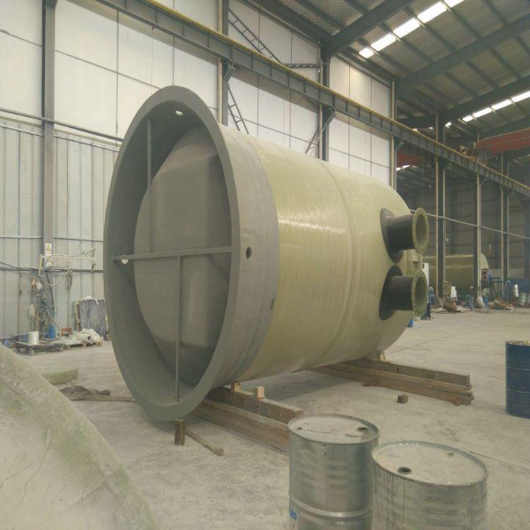荔浦玻璃钢一体化泵站 环保型树脂材质泵站厂家货源