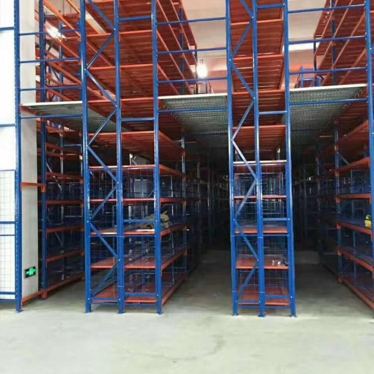 阁楼式货架定制厂家,仓库重型二层货架,阁楼货架