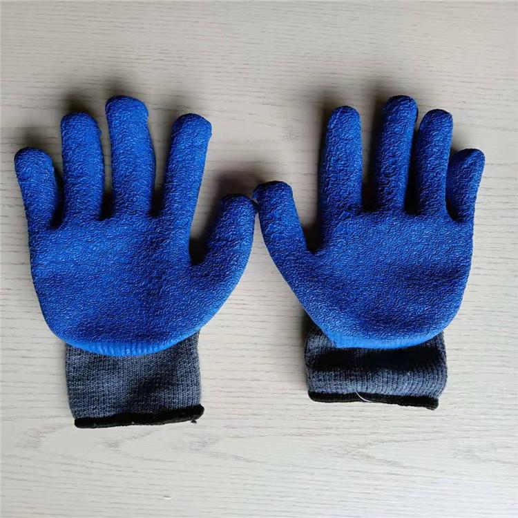浸胶手套价格 晴手套发泡手套批发 弹力王手套价格 防水手套  工地手套批发  帆布手套