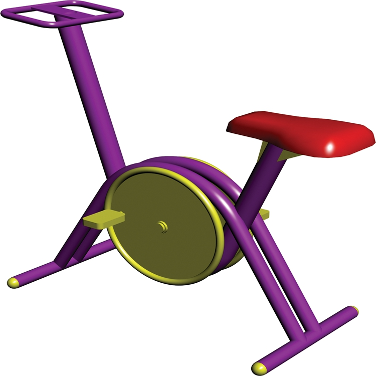 小区公园健身车 健身器材生产厂家 安全环保 可定制