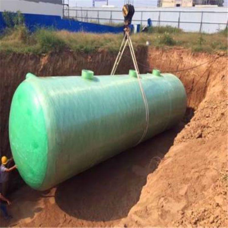蒙山一体化玻璃钢污水处理池库存齐全 货源充足