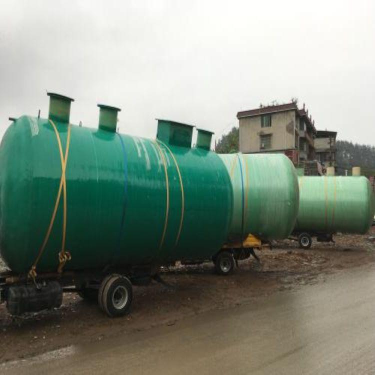 藤县地埋式玻璃钢污水处理池 环保型材质批发
