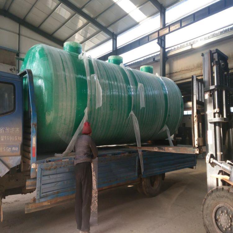 平南玻璃钢树脂成套污水处理设备 一体化污水设备质量