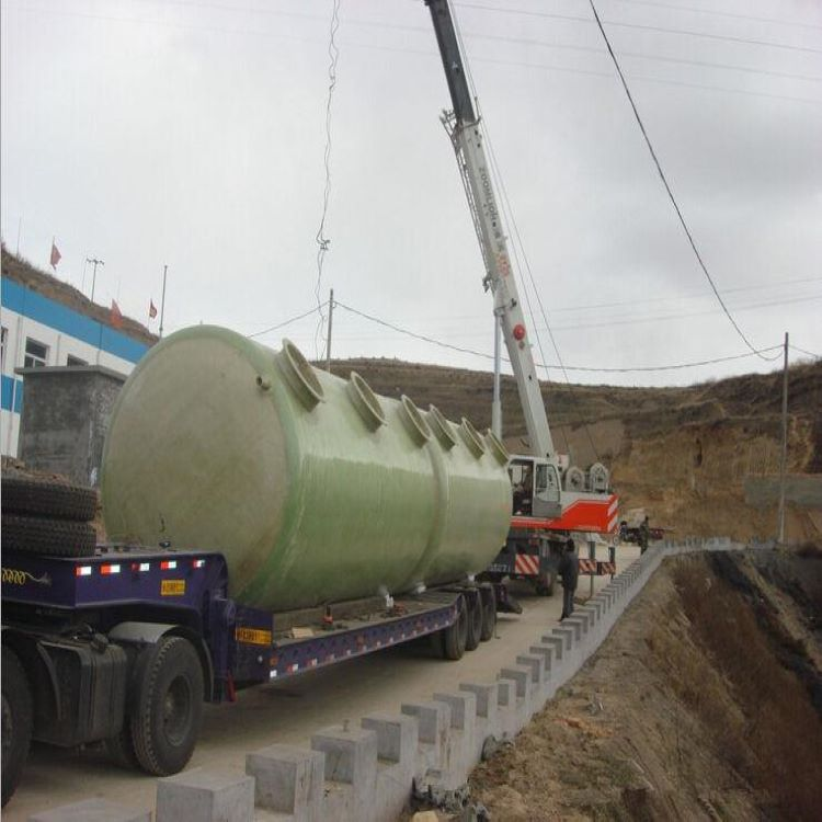 容县一体化玻璃钢污水处理池调节池厂家直销