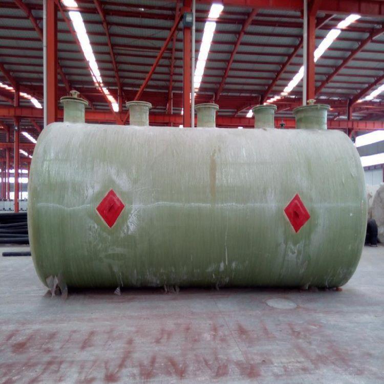 田阳玻璃钢地埋式污水处理池 一体化缠绕污水处理设备