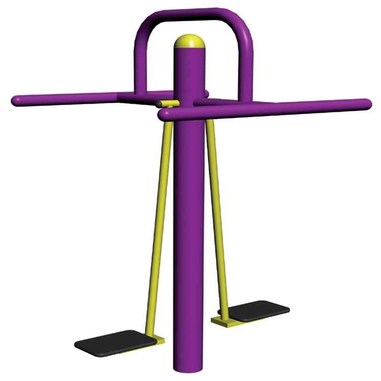 10002B 双人浪板室外健身器材生产厂家  质优价廉 设备齐全