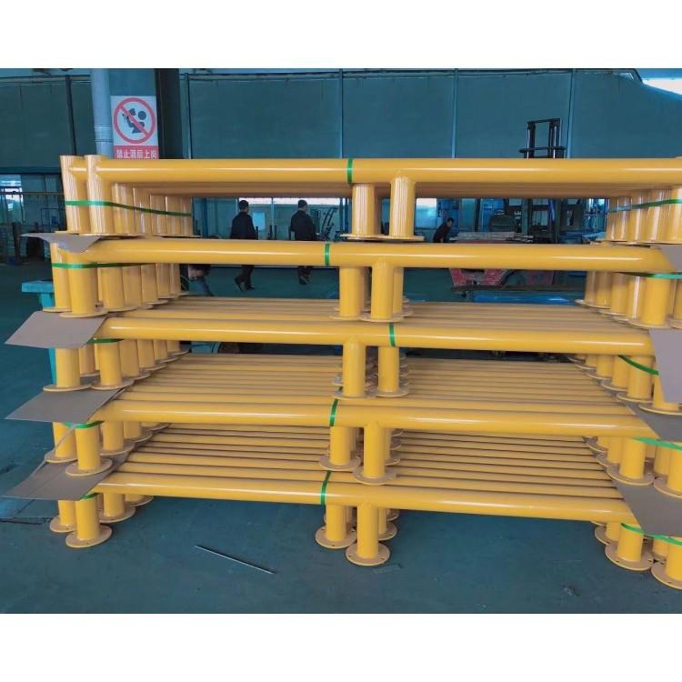 仓库防撞护栏,护脚,重型货架防撞护栏厂家定制