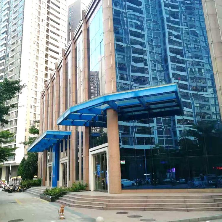 城市建设遮阳雨棚 阳光板雨棚生产厂家 量大从优
