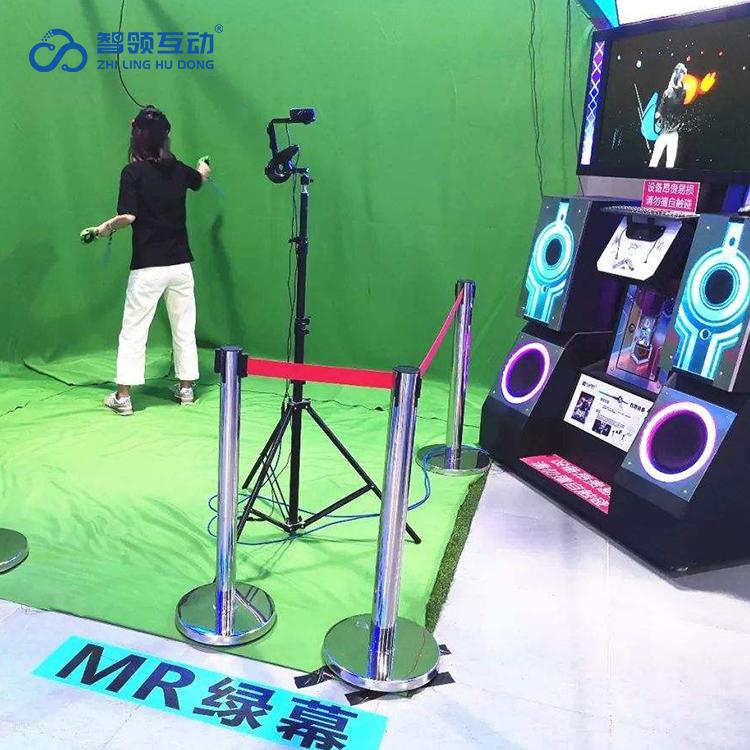 MR混合拍摄背景绿布 技术先进 游戏款式多