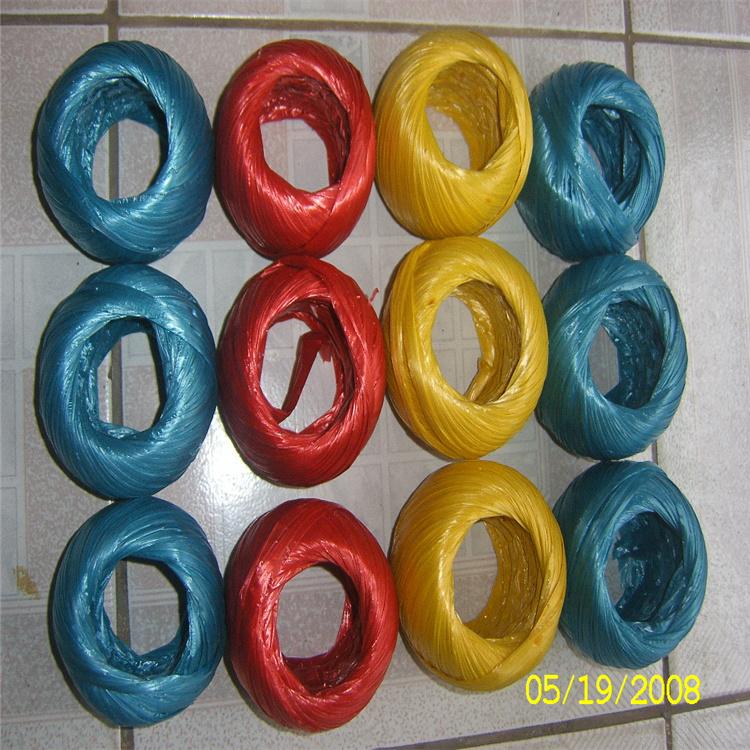 湛江银燕劳保捆扎绳 品质优异 尼龙草球加工批发 撕裂膜捆扎绳
