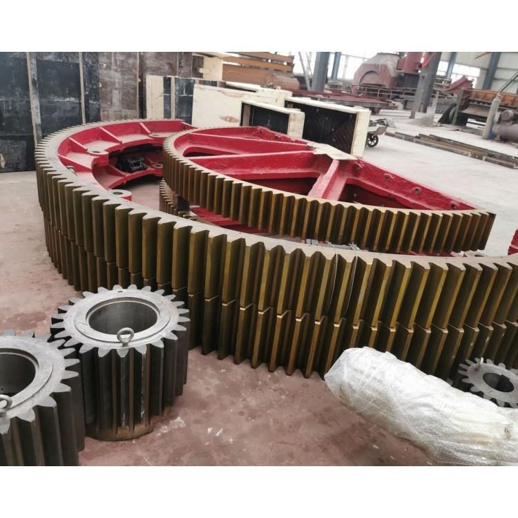 1.9米2.2米2.5米回转窑大齿圈,干燥窑轮带配件,厂家化工厂家用