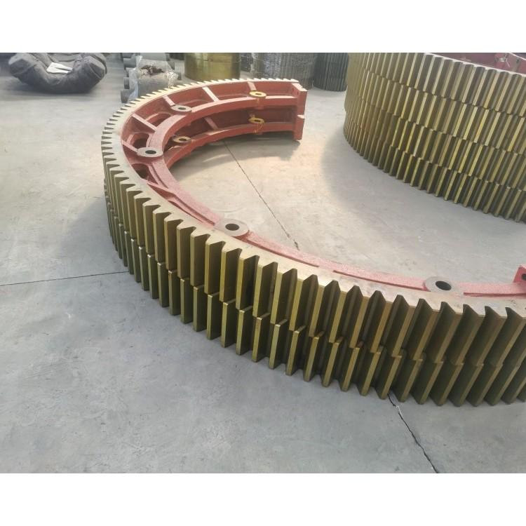 脱硫石膏回转窑滚圈,冶金矿烘干机轮带配件,永达铸钢价格,实力派