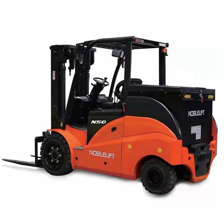 5吨平衡重电叉车 诺力电叉车 全国供应 操作简便快捷