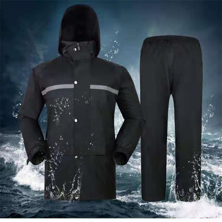 高档劳保雨衣雨裤套装 防风抢险救灾雨衣湛江 户外巡逻雨衣套装