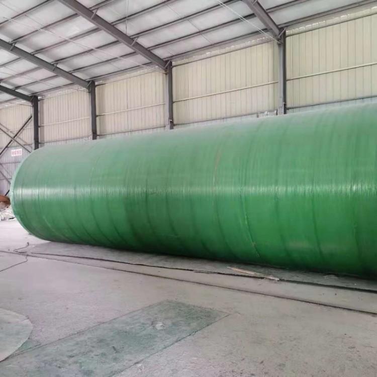 加强型玻璃钢化粪池厂家直销 机械缠绕玻璃钢化粪池 加强型玻璃钢化粪池厂家直销