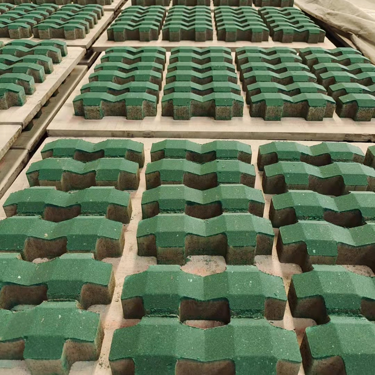 护坡砖 井字砖 富康砖厂 按需定制 河道护坡砖